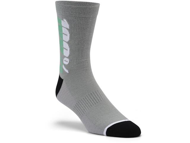 100% Rythym Socken charcoal